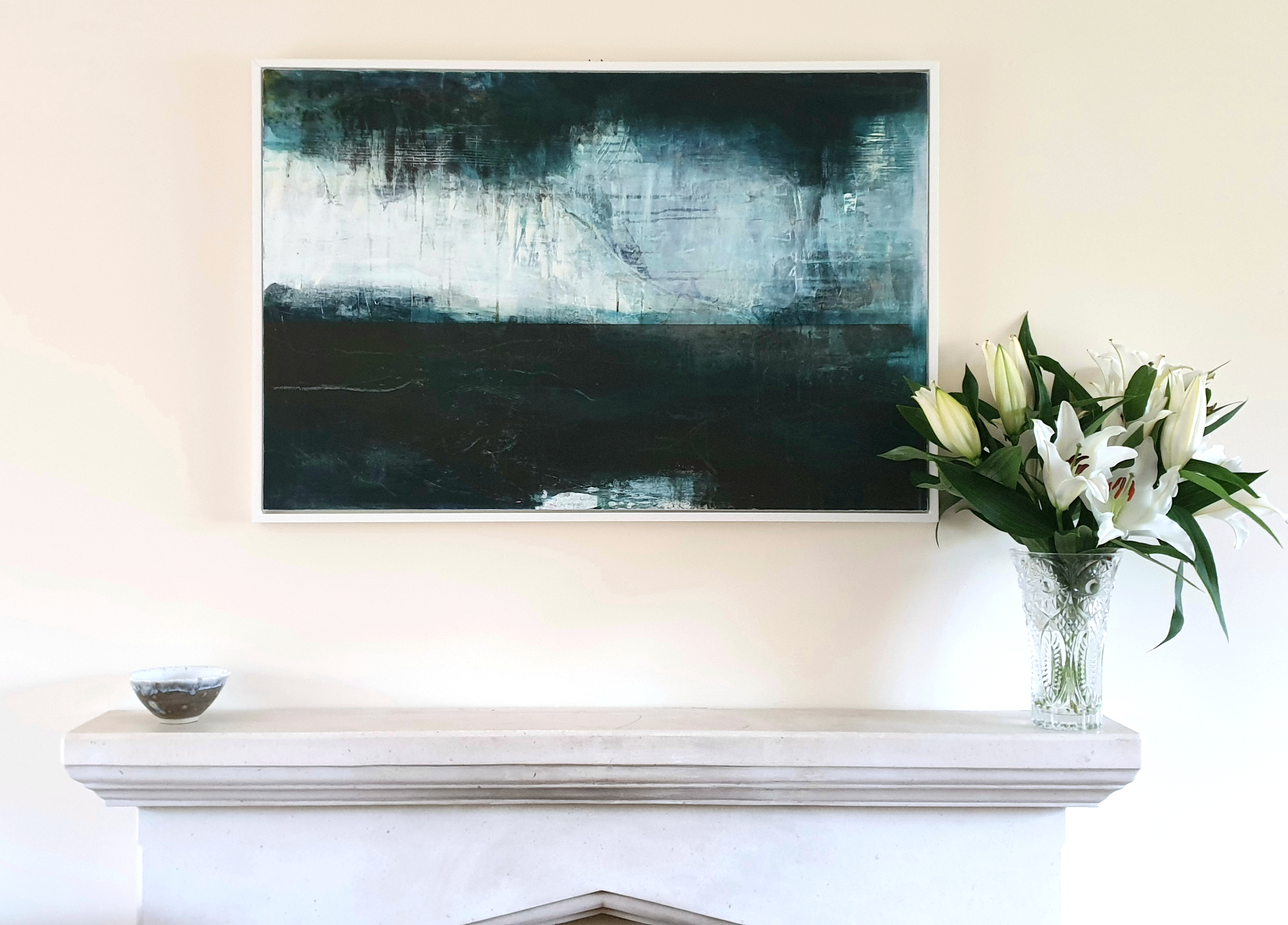 Abstract Landscape Painting by Natalie Day, Oxford